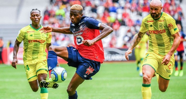 What Victor Osimhen said after scoring two goals on debut as Lille defeats Nantes