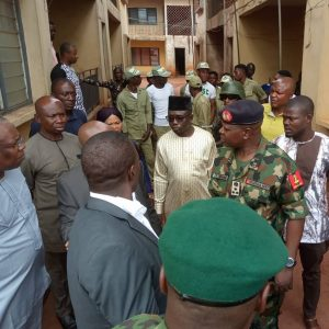 NYSC DG visits mother of missing corps member