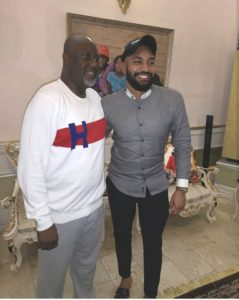 BBNaija: BBNaija Housemates Visit Dino Melaye At His Residence In Abuja