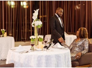 Davido And Chioma Shine After Their Introduction