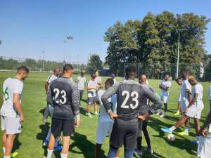Ukraine vs Nigeria: Super Eagles Train Ahead International Friendly