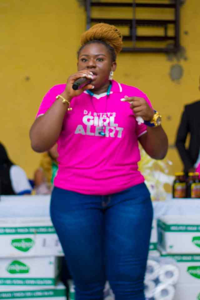 #GirlAlert: DJ Ritzy debuts in style (See pictures of Schools tour & Concert to celebrate the Girl Child) 10