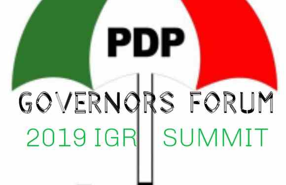 PDP-Governors Forum Postpone IGR Summit, gets New Dates