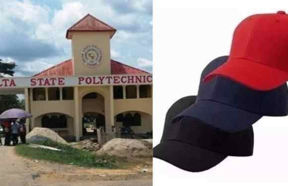 Delta Polytechnic bans face cap on campus, destroys 5,000