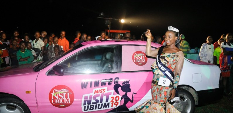 Christiana Ekpo emerges 'Miss Nsit Ubium' as 'Okpo Records' thrills the crowd (Pictures)