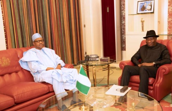 Jonathan Meets Buhari Immediately After National Security Council Meeting (Photos)