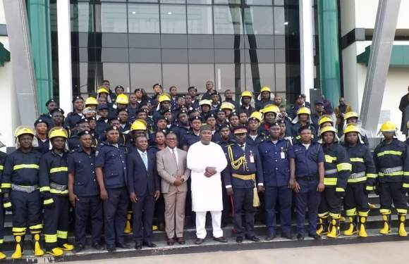 Enugu Governor Buys Innoson Fire Fighting Trucks For State Fire Service (Pictures)