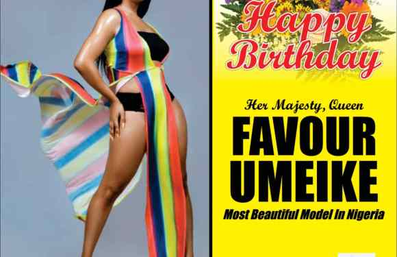 Most Beautiful Model In Nigeria Celebrates Her Birthday With Sultry Photos
