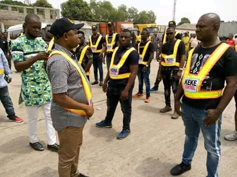 Anambra Ministry Of Transport Inaugurates Keke Control Officers (Photos)