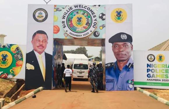 Pictures From The 12th Biennial Nigeria Police Games Opening Ceremony In Awka