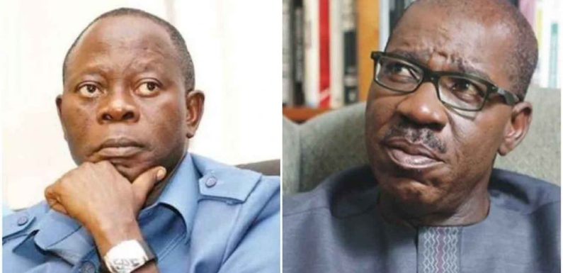 If Oshiomhole continues to misbehave, we will have no mercy – Obaseki