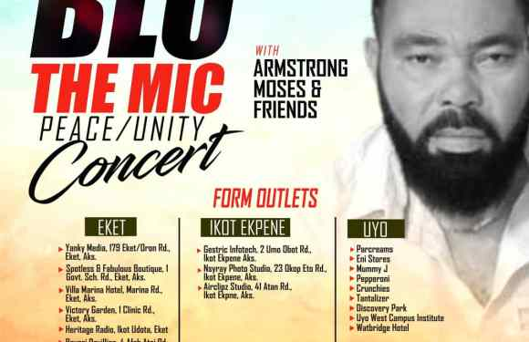 'Blo….The Mic' Concert: Application forms to participate in competition out now