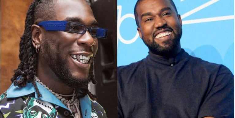 Burna Boy Excited To Run Into His Role Model, Kanye West At Paris Fashion Week (Video)