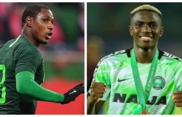 Osimhen speaks on Ighalo returning to Super Eagles squad