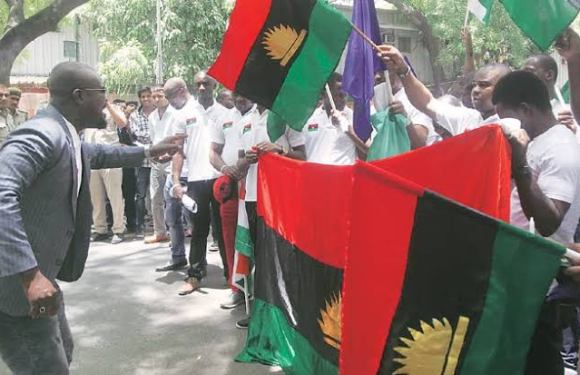 "COVID-19 Lockdown: ""We will deal with any truck driver carrying northerners into our land"" – Biafra group"