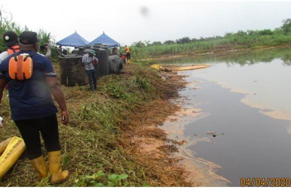 Shell Probe: '43 barrels of crude poured into farmlands' – Nigerian govt [Photos]