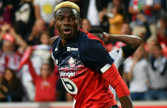 Transfer: Osimhen's departure from Lille confirmed