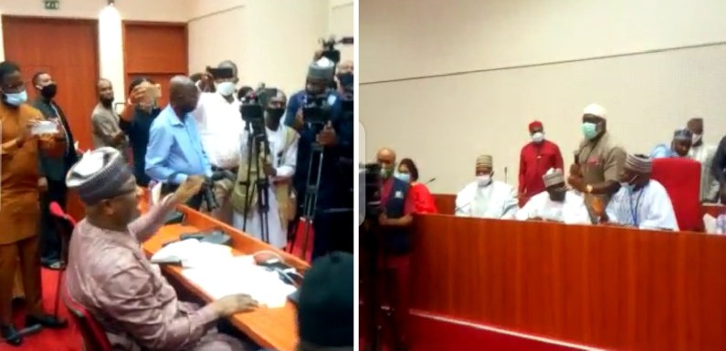 Festus Keyamo Spotted Having Shouting Match With Lawmakers Over NDE Recruitment