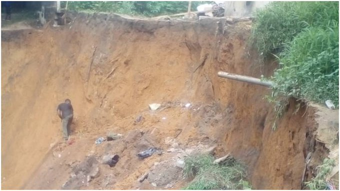 Landslide: Three siblings escape death in Akwa Ibom
