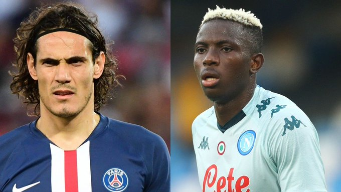 Osimhen compared with Cavani after Serie A debut with Napoli