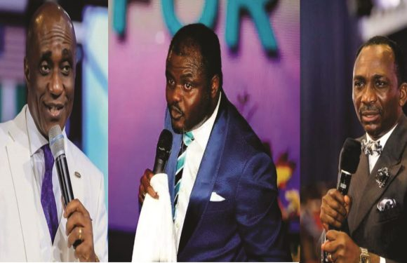 Oyedepo: Pastor Abel Damina comes for David Ibiyeomie and Paul Eneche (Video)