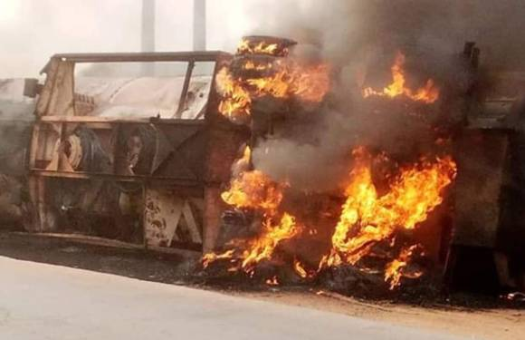 End SARS: Three council headquarters, Afor Ogbe market set ablaze in Imo State