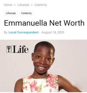 Child comedian, Emmanuella opens her new house