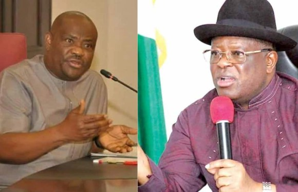 You can't threaten me, I'm not at your level – Wike fires back at Gov Umahi