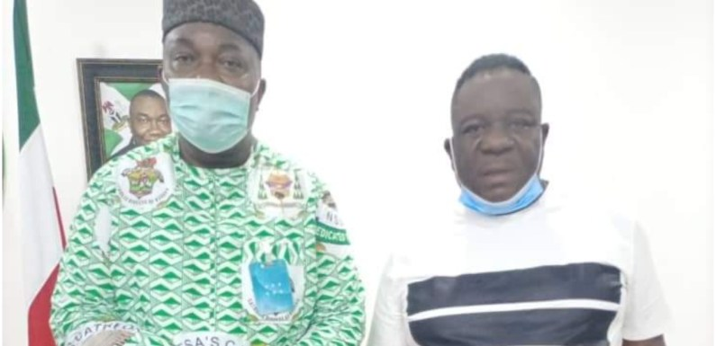 Mr. Ibu at 60, extols Ugwuanyi as governor adopts Easter Monday as 'Entertainment Day'