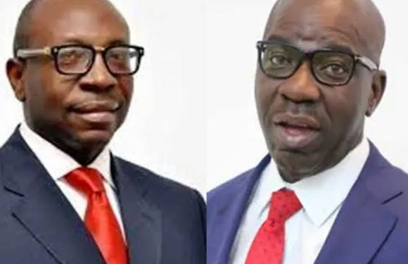 Edo Governorship Dispute: INEC Tenders Obaseki's Nomination Form As Evidence –