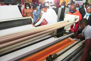 Gov Udom Commissions Tissue Paper Production Factory in Akwa Ibom
