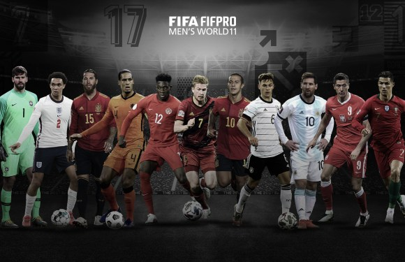 Messi, Ronaldo and Lewandowski named in FIFA FIFPro Men's World11