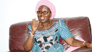 Real men don't beat women – Betty Akeredolu reacts to video of wife battery by Channels staff
