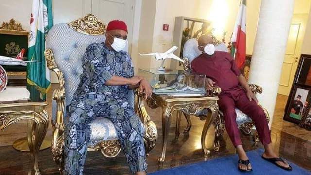 Wike holds meeting with former Abia Governor, Kalu 9