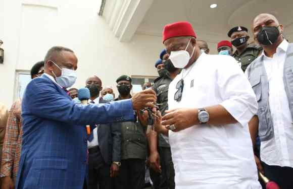 NDDC: Imo State Governor charges stakeholders on peaceful coexistence for more development