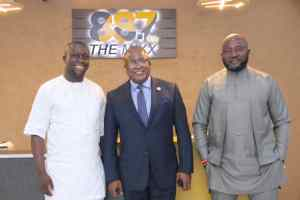 Akwa Ibom Governor's aides visit new Private Radio Station