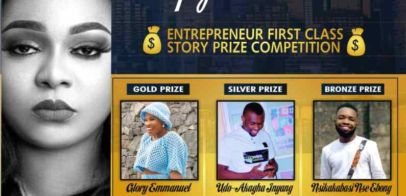Winners emerge in Meflyn Anwana Entreprenuer First Class Story Prize Competition (details)