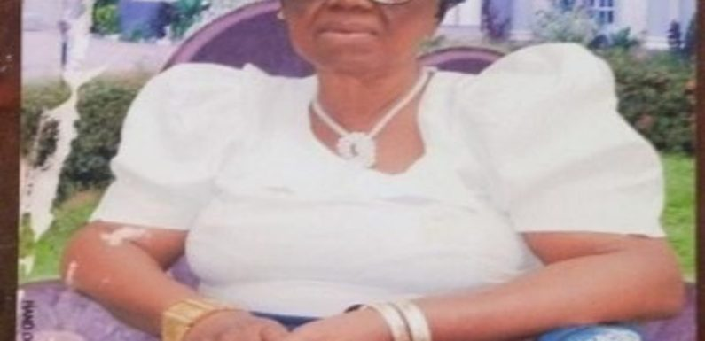 Wife of Ex-minister, Amechi dies at 91