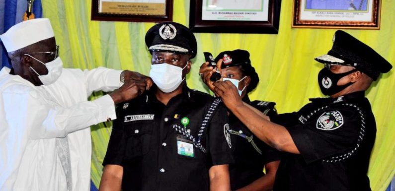 You will account for actions, inactions – Police IG to new AIGs