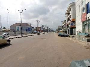 Roads deserted, banks, others shut down as Buhari lands in Imo [PHOTOS] 9