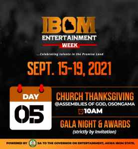 'Ibom Entertainment Week is first of its kind in Akwa Ibom' - Gov. Udom's aide boast