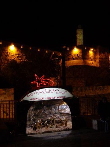 Christmas on Jaffa Plaza