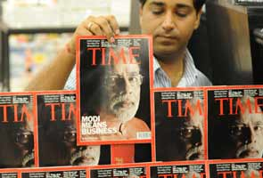 Narendra Modi features on Time magazine cover; Congress angry