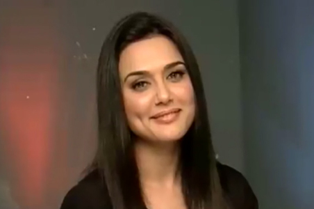 Preity Zinta, Actress.