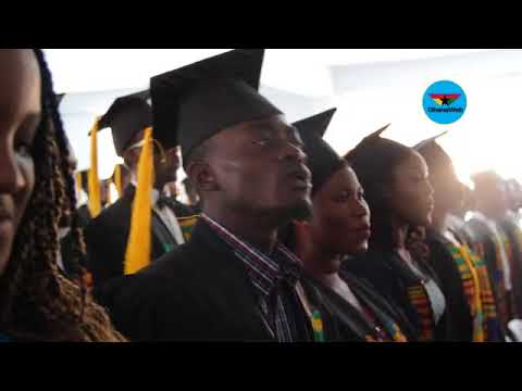 Lil Win sings National Anthem at matriculation ceremony