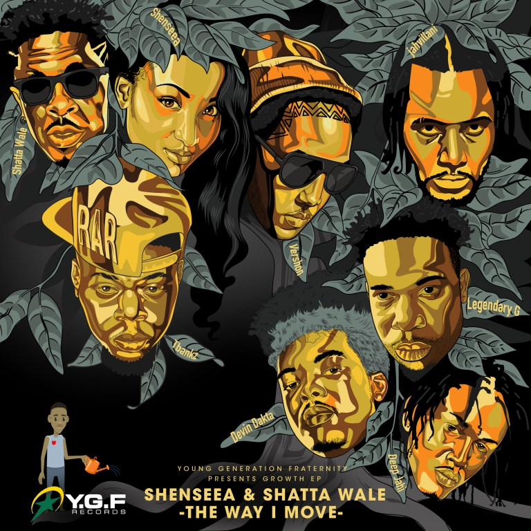 Shenseea x Shatta Wale - The Way I Move