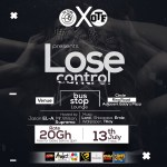 Upcoming Event: Lose Control Party (@Bus Stop Lounge, 13th July, 2018)