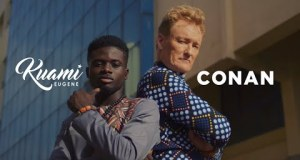 Kuami Eugene – For Love ft. Conan O'Brien (Official Video)