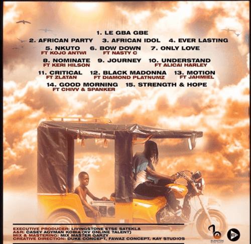 Stonebwoy anloga tracklist - Stonebwoy unveils Tracklist for 'Anloga Junction' Album
