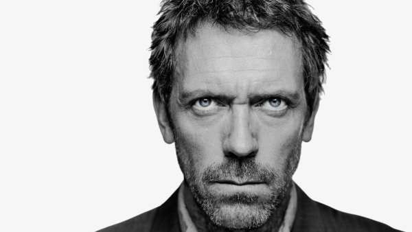 Another Take: photo of Hugh Laurie as Dr Gregory House.